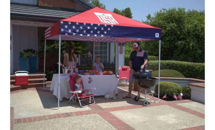 Celebrate The 2021 Fun-Filled Olympics With A Patriotic Tent
