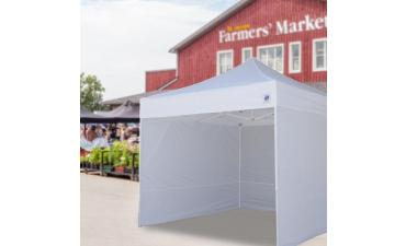 Vendor Tents for Farmers' Markets | Pro Tips & Staging Ideas