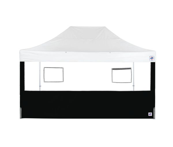 Endeavor™ Food Booth Sidewall - Black