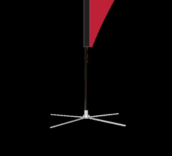 Flagpoe, Teardrop,  Base, X-Small