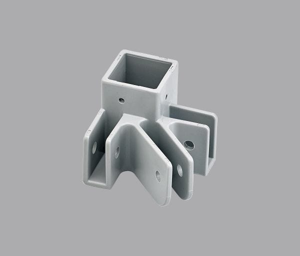 Pyramid™ Leg End Cap Gray x2