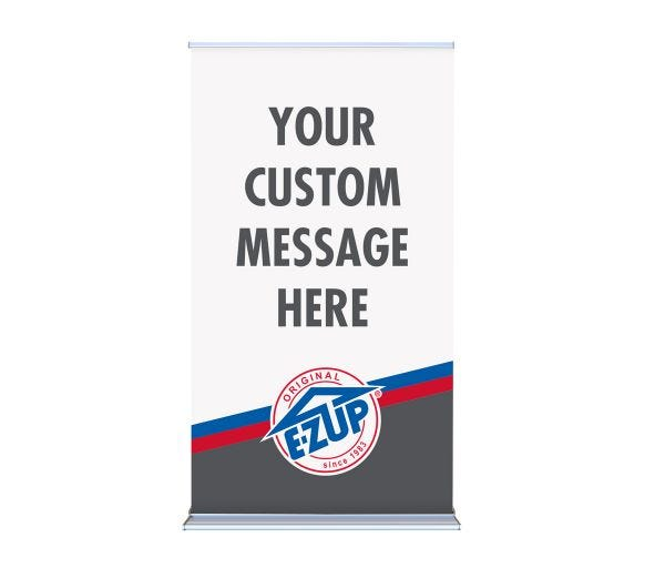 Deluxe Roll-Up Banner 48