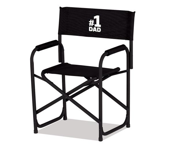 Custom Standard Directors Chair - Black