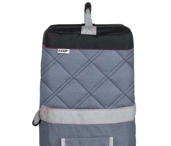 Deluxe Roller Bag, 15'(4.5m), Gray w/Black Accents
