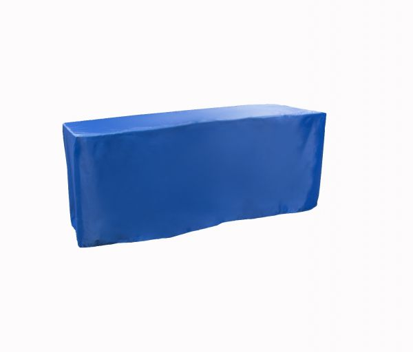 Grab & Go Table Cover 2.5' x 8' - Color Royal Blue