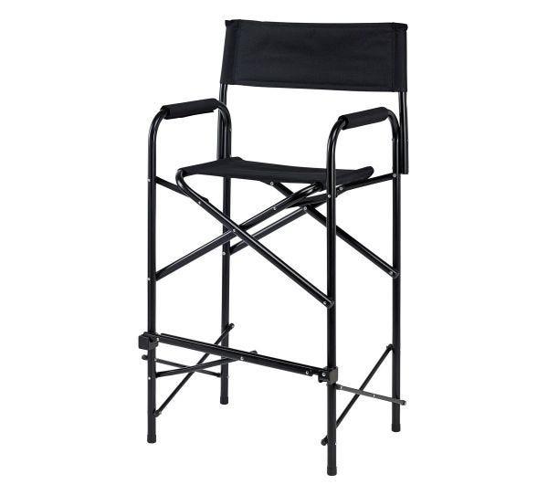 Directors Chair - Tall - Black