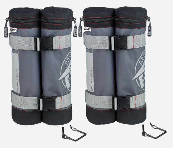 Deluxe Weight Bags - 45 lbs - 2 Pack