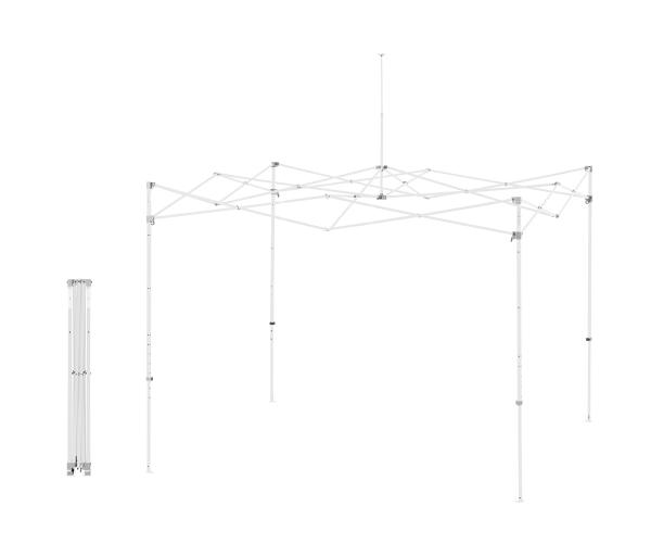 Enterprise™ 10' x 10' Steel Frame - White
