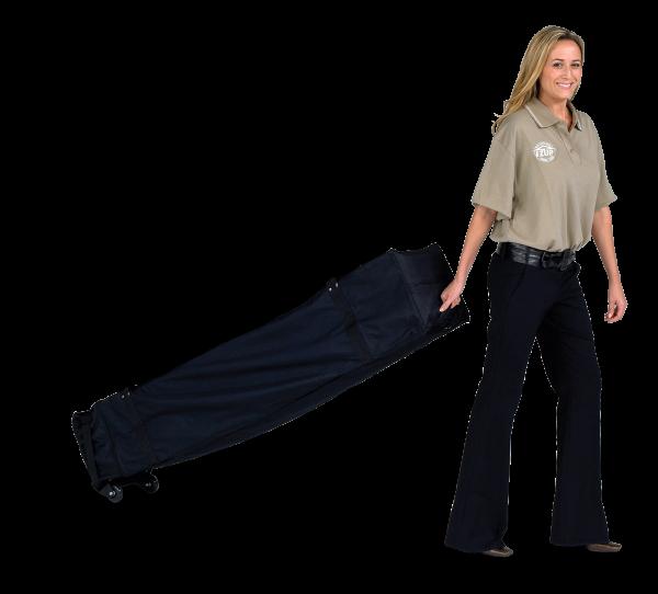 Deluxe Roller Bag, 15' , Black