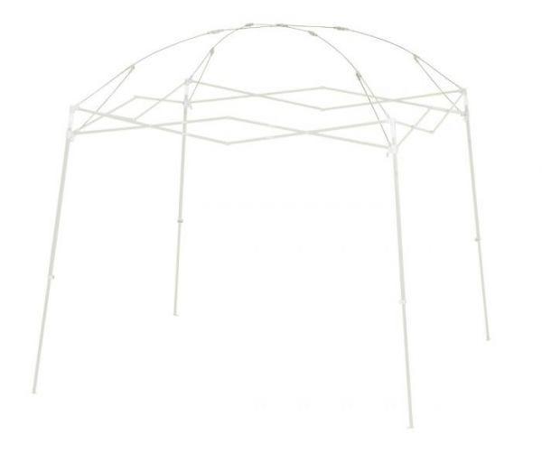 Dome, Stl Frame, 10'(3m), White,