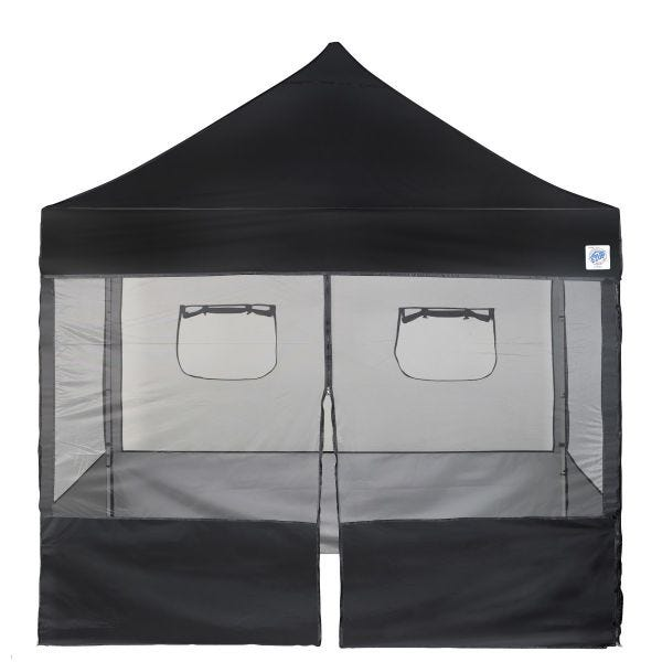 Food Service Vendor Screen Wall Kit, MZ, 10', with