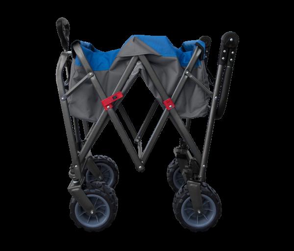 E-Z UP GearRunner, Wide Wheeled Wagon, Blue