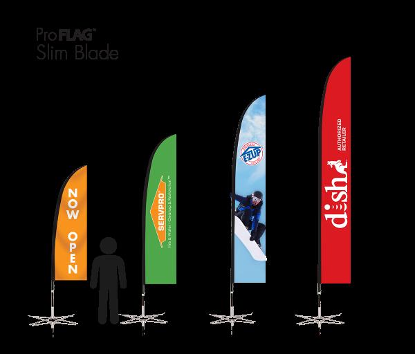 Slim Blade Flag
