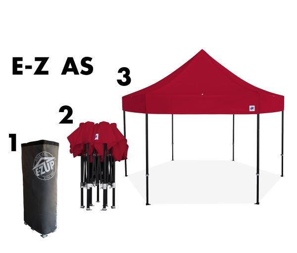 Hub™ 15' x 15' Shelter