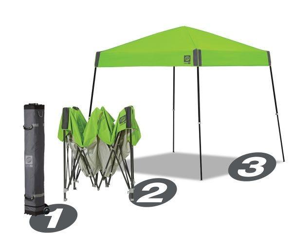 Sprint 64 Shelter, Steel Black Frame, 10'(3m),