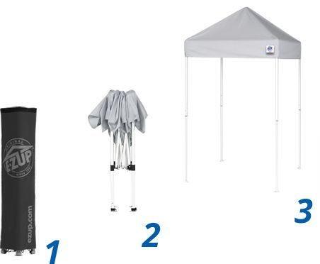 VUE™ 5' x 5' Shelter