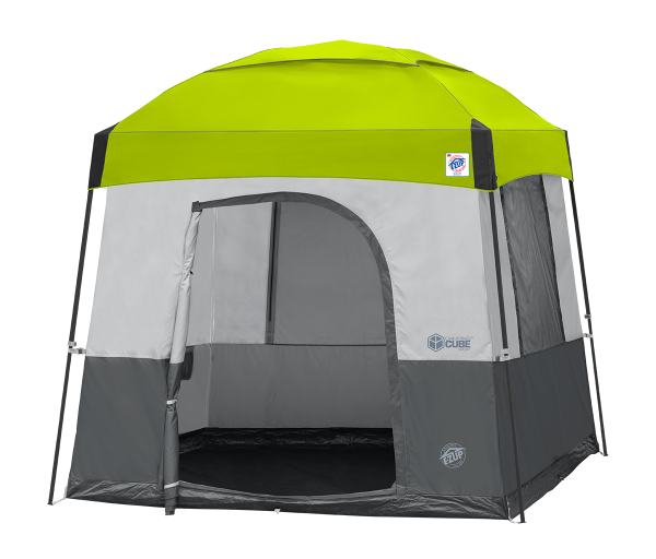 10' Camping Cube Sport(St Gry) w/Limeade Dome KIT