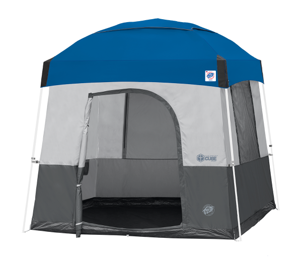 10' Camping Cube Sport (St Gry) w/Ryl Bl Dome KIT