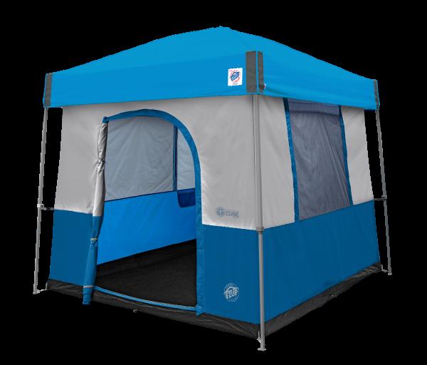 10' Camping Cube Sport (Ryl Bl) w/Splash Vista KIT