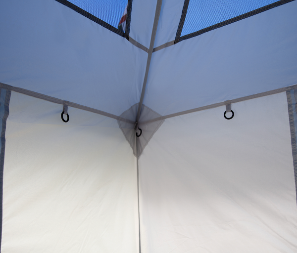 Camping Cube Sport, 10'(3m), Angle Leg, Royal Blue