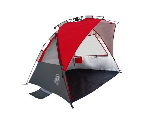 Wedge Beach & Sport Tent, 8', Red, Carry Bag