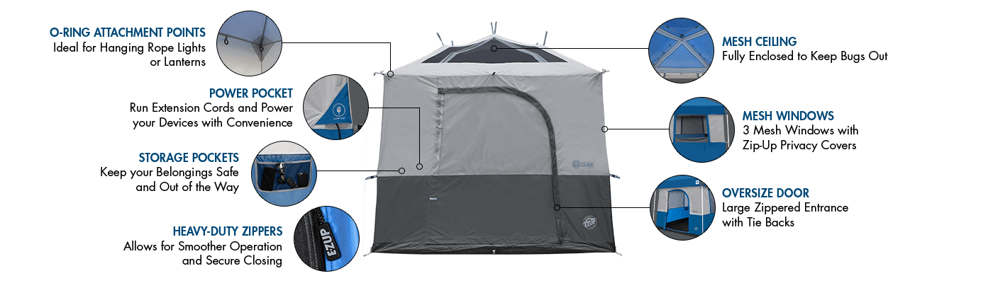 Camping Cube Sport Technology