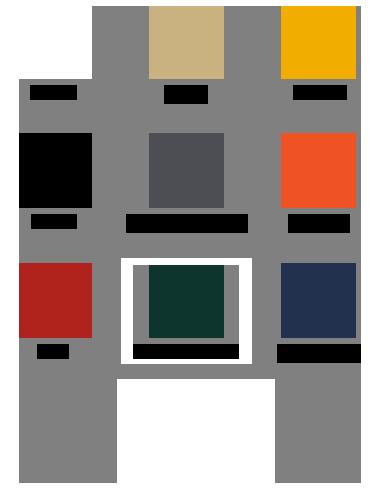 E-Z UP Fabric Colors