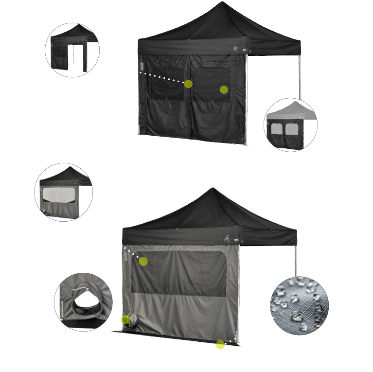Utility Walls Features