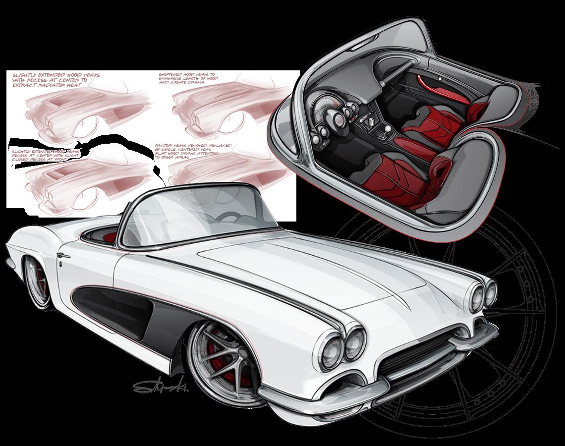 1961 Pro Touring Corvette
