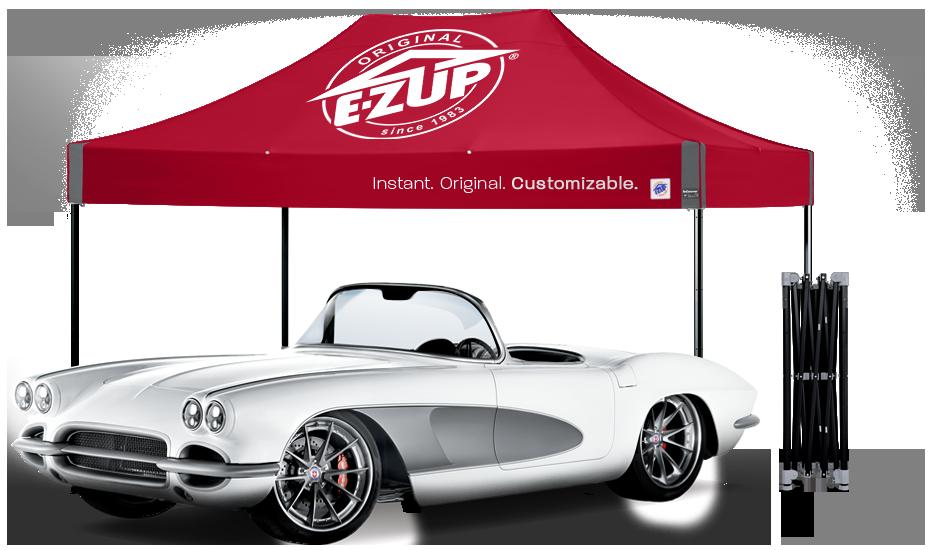 E-Z UP Garage