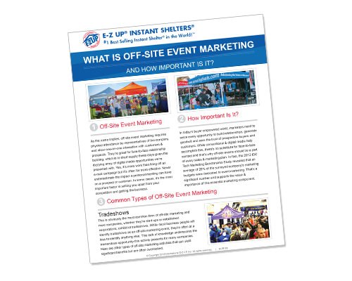 What is Off-Site Event Marketing