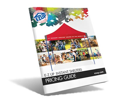 E-Z UP Pricing Guide