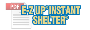 E-Z UP Instant Shelter™ (Sold Exclusively by Sam's Club)