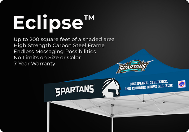 E-Z UP Custom Printed Canopies Top