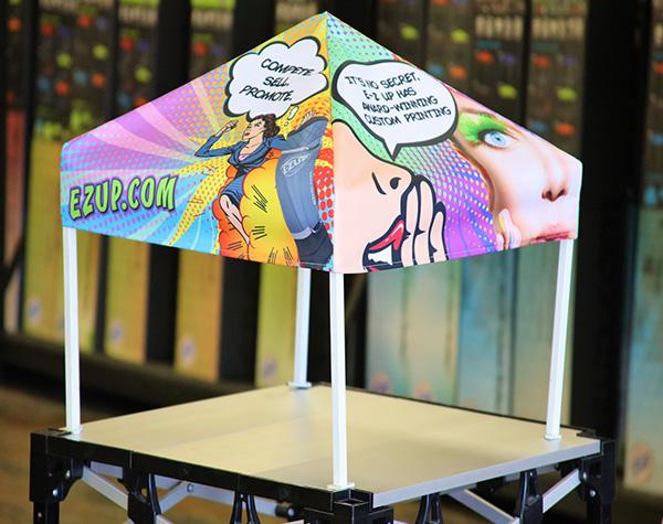 E-Z UP Media Room